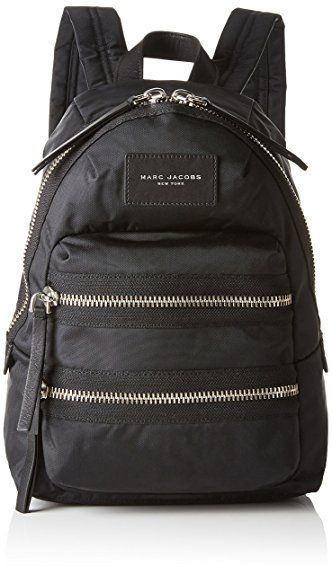 c6d61672228e04 Marc Jacobs Nylon Biker Mini Backpack, Black, One Size | Designer ...