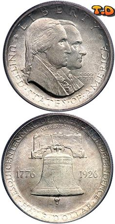 N♡T.  Denomination: 1/2 Dollar    (aboutDollar) Metal: Silver State: USA (1776 - )              Issue year(s): 1926  Person: George Washington               Catalog reference: Seaby-B (1)