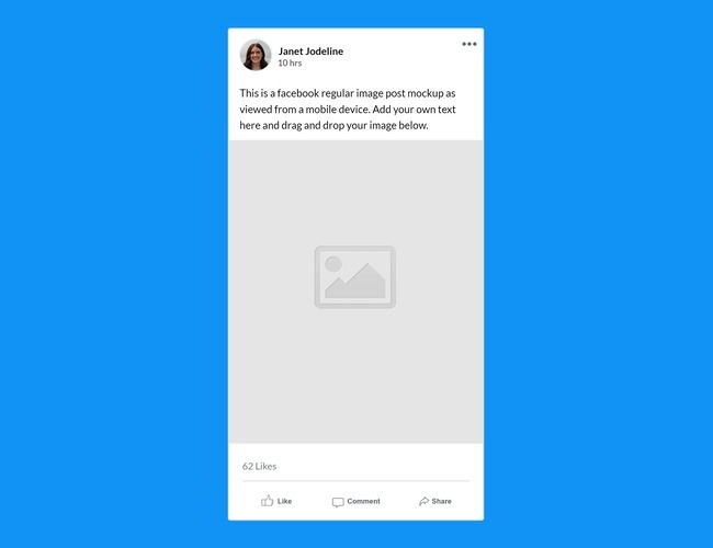 Use This Mockup Template For Easily Creating A Realistic Facebook Post As Viewed From The Mobile Fb App Us Book And Magazine Book Cover Mockup Magazine Mockup