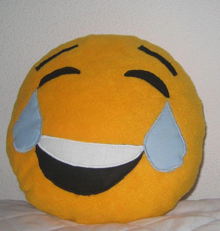 Emoji Kissen, emoji Joy