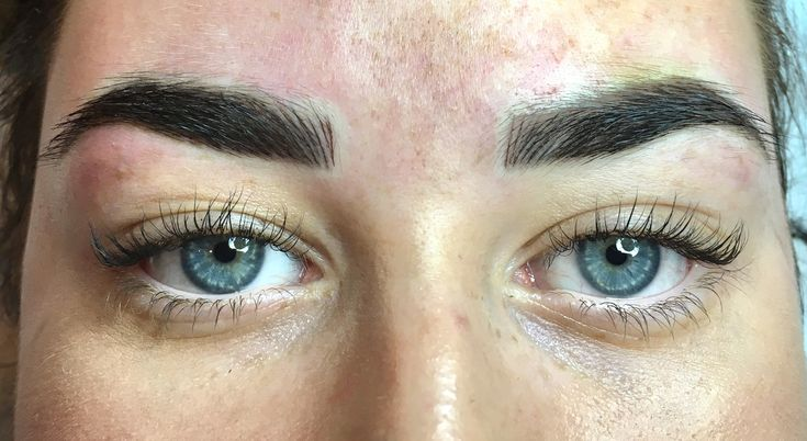 Another combination brow created this week! 💕