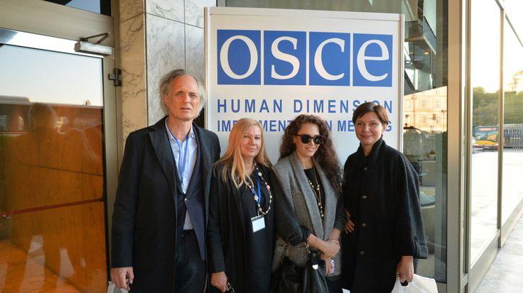 Dissidentinnen aus dem regierungskritischen Kiewer Rechtsschutzzentrum haben an der OSZE-Menschenrechtskonferenz in Warschau teilgenommen. Im Interview mit RT Deutsch machen sie auf die prekäre Lage Oppositioneller in der Ukraine aufmerksam.