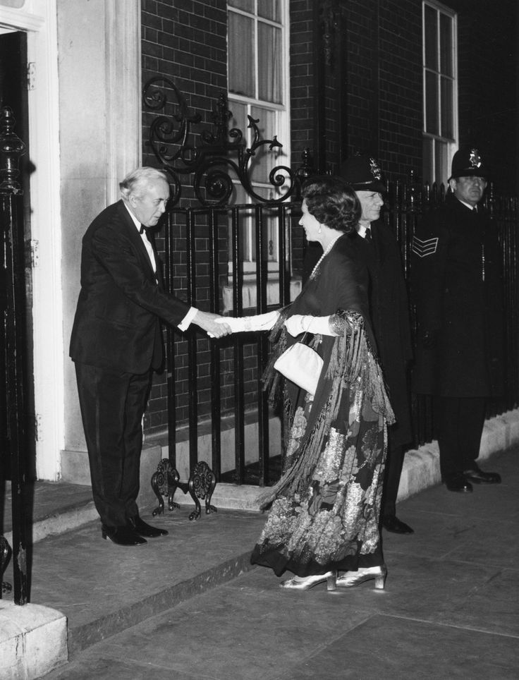 Harold Wilson, UK prime minister, 1976 | Queen Elizabeth II Pictured With World Leaders During Her Record-Breaking Reign