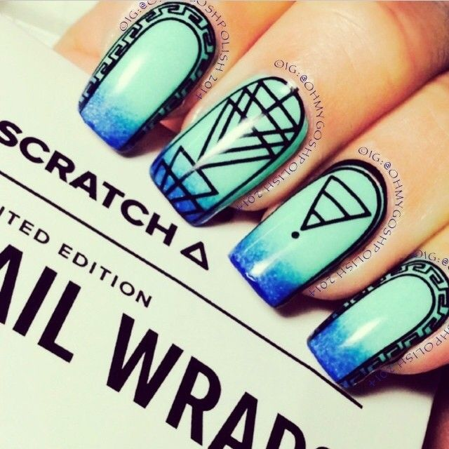 Instagram photo by britneytokyo #nail #nails #nailart