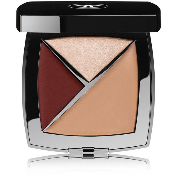 CHANEL Conceal-Highlight-Colour - Colour Beige Intense ($70) ❤ liked on Polyvore featuring beauty products, makeup, face makeup, concealer, beauty, chanel, creamy concealer, highlight face makeup, highlighting concealer and chanel concealer