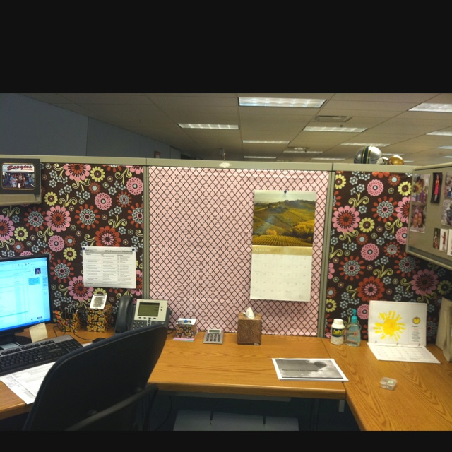 Who says your cubicle has to look like everyone else's??