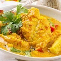 Indische Visstoofpot Met Sereh En Kokosmelk recept | Smulweb.nl