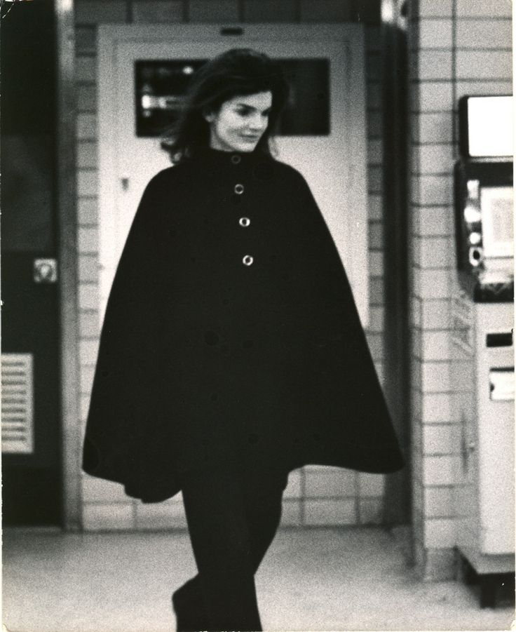 Ron Galella - Jackie Onassis shopping in New York. | From a unique collection of black and white photography at http://www.1stdibs.com/art/photography/black-white-photography/