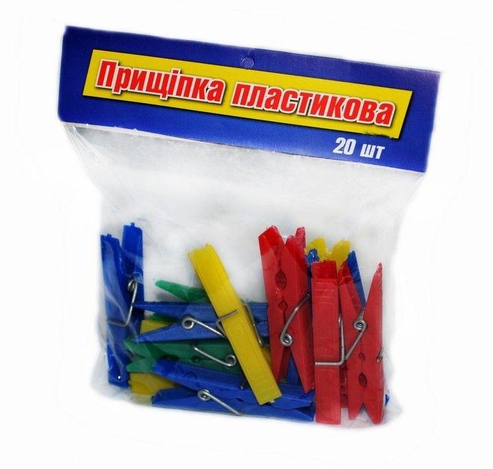 #Прищепки_пластиковые для белья 20 шт. Производитель: Hasiba Group (Украина) Цена: 7,37 грн http://hasiba.com.ua/index.php/hoztovary-optom-catalog/izdeliya-iz-plastika/item/106-prishchepki-plastikovye-20-sht.html