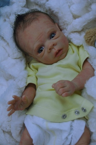 Cute Reborn Baby Doll Soft Silicone 18 Inch Handmade Baby: 48 Best Full Body Silicone Dolls Images On Pinterest