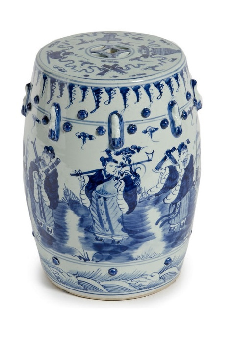 Instyle Decor Com Chinese Blue Amp White Garden Stool