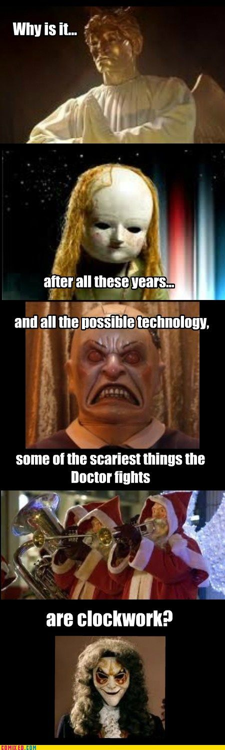 He is a TIME Lord