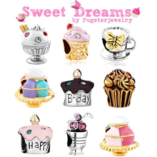 Pandora charms-Sweet Dreams by Pugster Jewelry perfect charms to make a charm bracelet