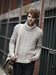 Cable Sweater by Martin Storey
