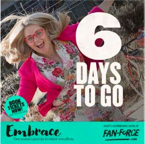 6 days left to book tickets to secure a screening of Embrace! Book a ticket, see a movie and support St Kilda Mums! Date night with a side of giving back! Click the link to book! https://fan-force.com/s…/embrace-village-cinemas-rivoli-vic/