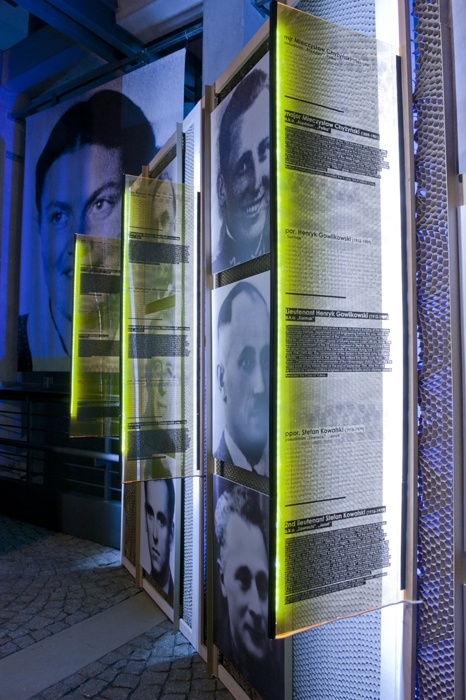 PSPW during occupation and Warsaw rising exhibition || designed by Piotr Matosek