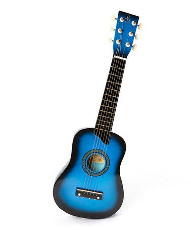 Take a look at this Blue Music Pro Kids Acoustic Guitar by New Dimensions on #zulily today! $20 !!