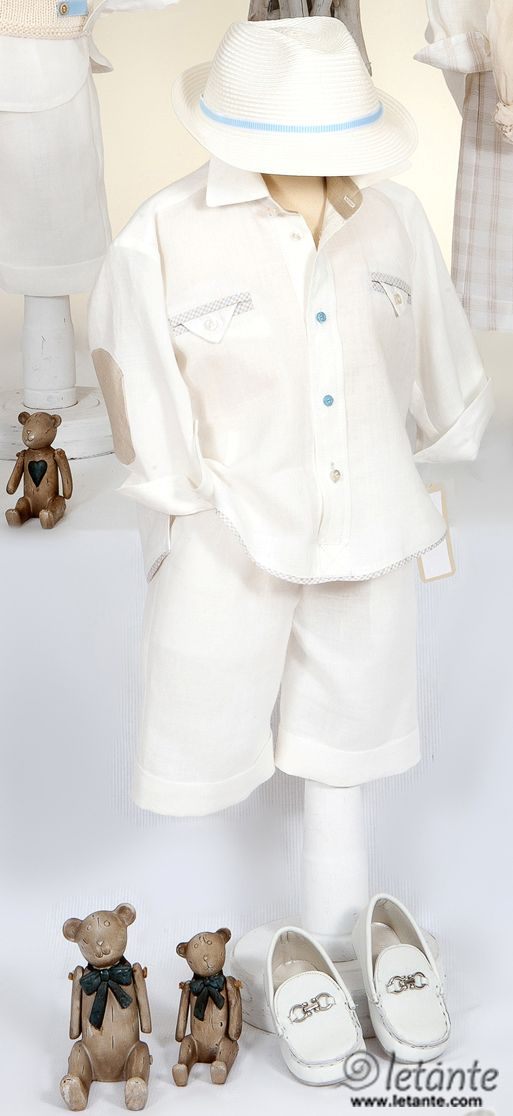 Christening gown - special occasion baby set Βαπτιστικα ρουχα Letante