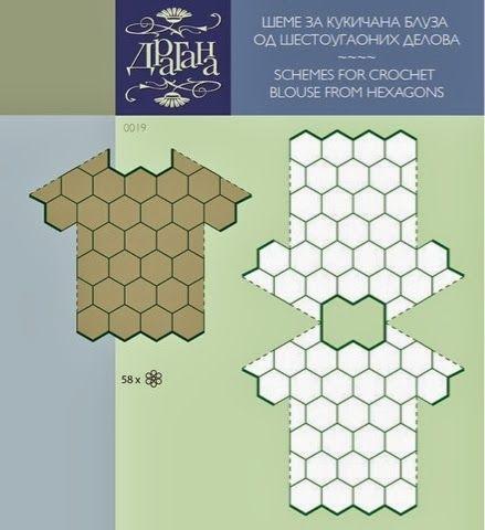 Andreia Lessa Tricô e Crochê: Na hora de montar uma blusa em squares, sempre bate dúvidas quanto as emendas, aqui tem vários padrões diferentes