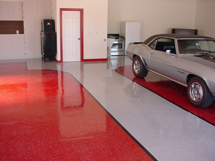 Grey metallic garage floor coating cool garage floor paint Floor paint color ideas