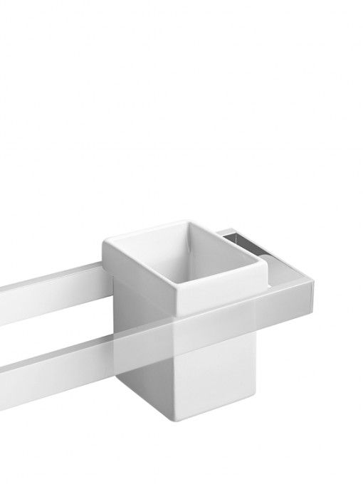 #Lineabeta #Skuara tooth brush holder 52801.09 | #Modern #Ceramic | on #bathroom39.com at 21 Euro/pc | #accessories #bathroom #complements #items #gadget