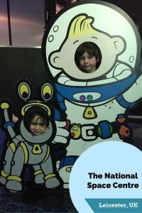 Last month we visited the National Space Centre in Leicester (UK) and had a fantastic family day out! The centre is fun, educational and a great place to visit for both adults and children