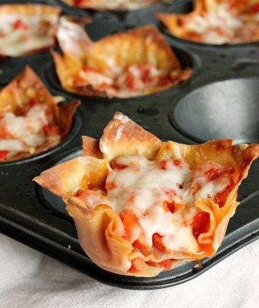 Pepperoni Pizza Cupcakes... Happy Hour Appetizers 58 | Hampton Roads Happy Hour - 8.5