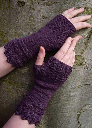 Ravelry patterns: fingerless gloves