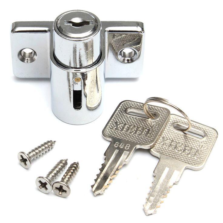 Lowest Price Aluminum Sliding Patio Door Window Bolt Locking Catch Push Lock Security Child 5x4x4cm Newest #women, #men, #hats, #watches, #belts, #fashion, #style