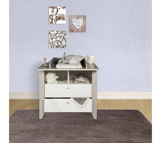 17 meilleures id es propos de table langer b b sur - Commode table a langer bebe kitty blanc ...