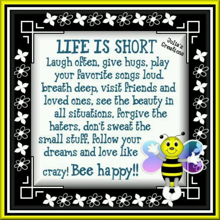 bee happy quotes