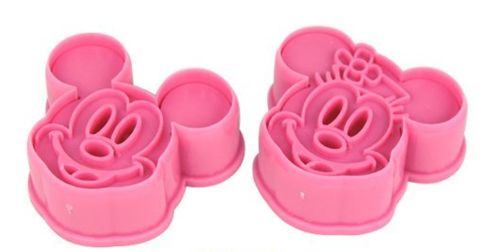 Mickey & Minnie Mouse Cutter Set