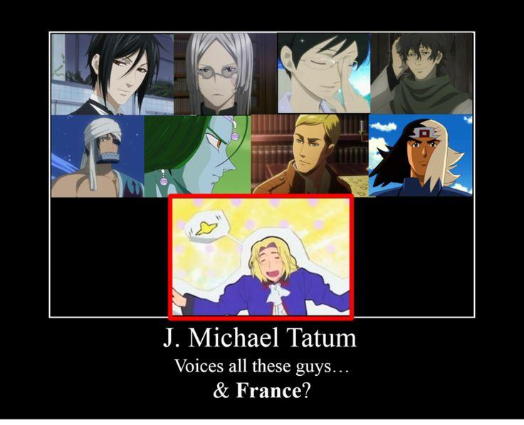 J Michael Tatum  Anime VoiceOver Wiki  FANDOM powered