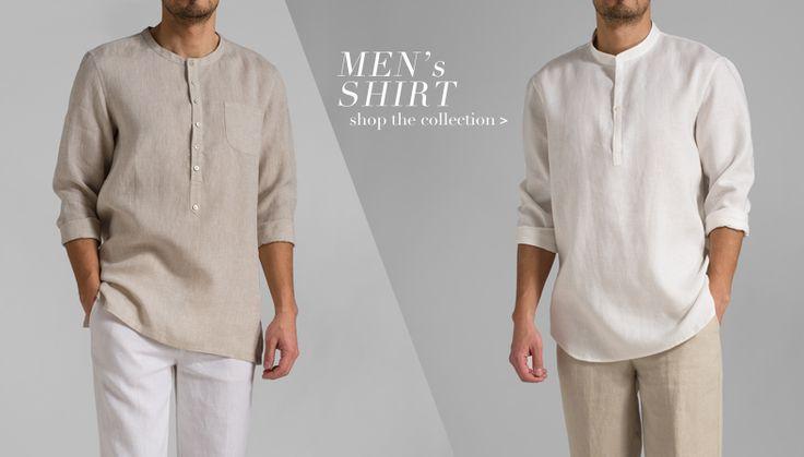 Linen Shirts | Men Clothing
