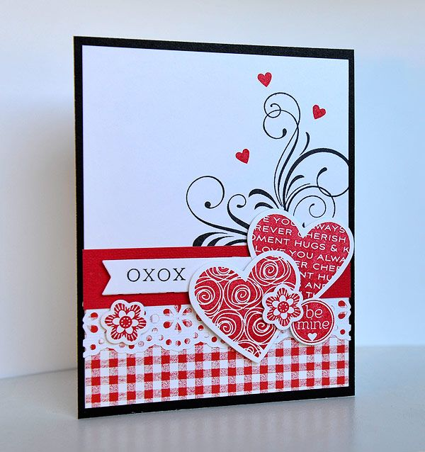 106 best images about Creative Cards Valentines Day – Valentines Day Handmade Card