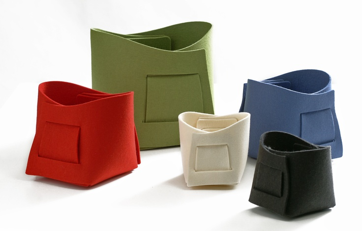 KORI felt boxes