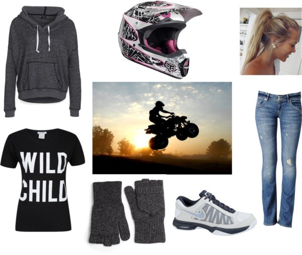 """ATVs With The Family :)"" by m-huntzy on Polyvore"