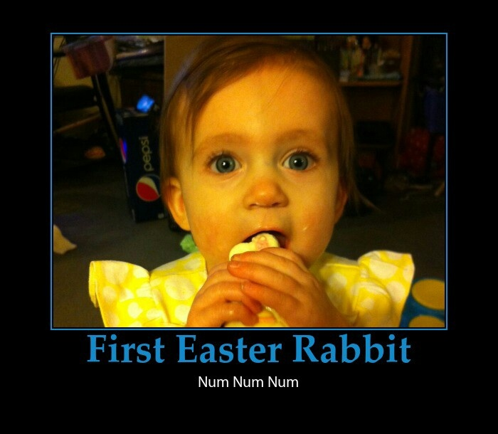 Granddaughter's First Easter