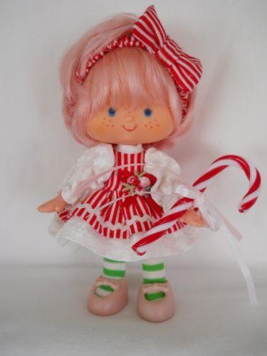 Custom Strawberry Shortcake Holiday Doll Peppermint
