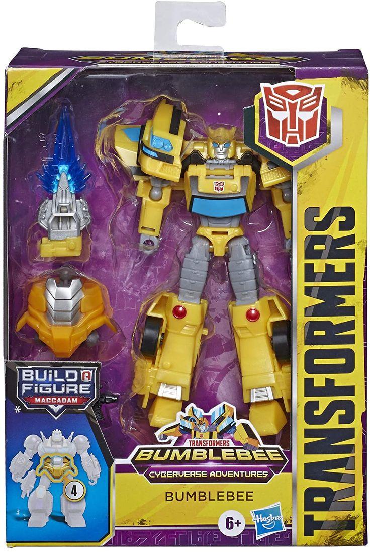 Transformers Cyberverse Deluxe Bumblebee Actionfigur in