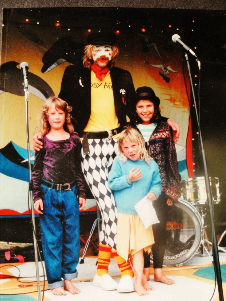 Housetruck Murray (Mr Clown) Gypsy Fair Dolphin Stage .