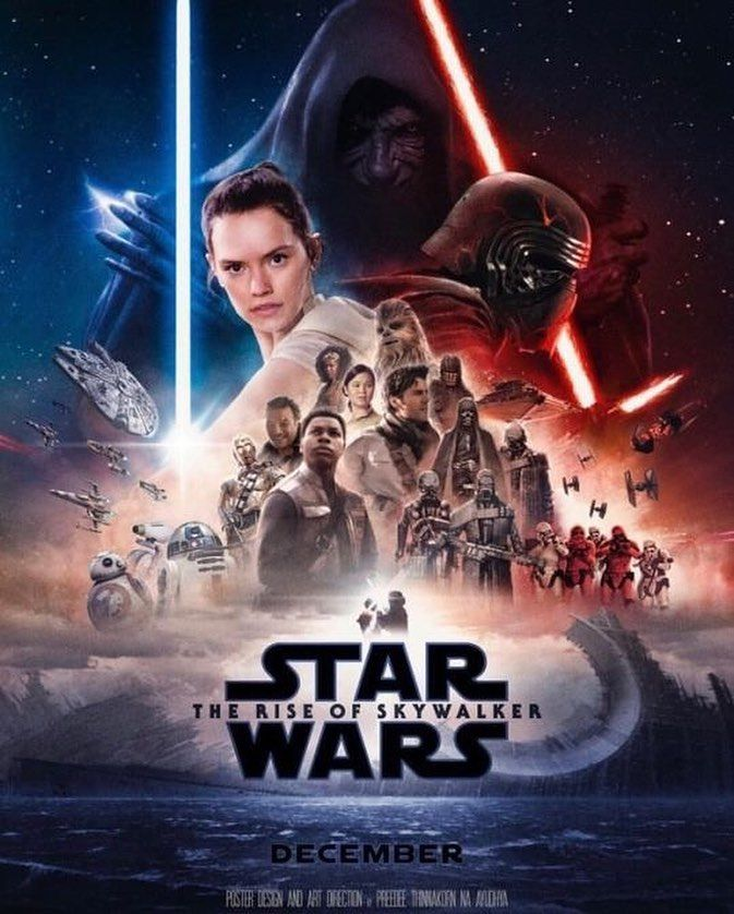 Star Wars The Rise of Skywalker concept poster  This is