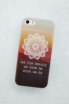 Beauty iPhone 5 Hard Case