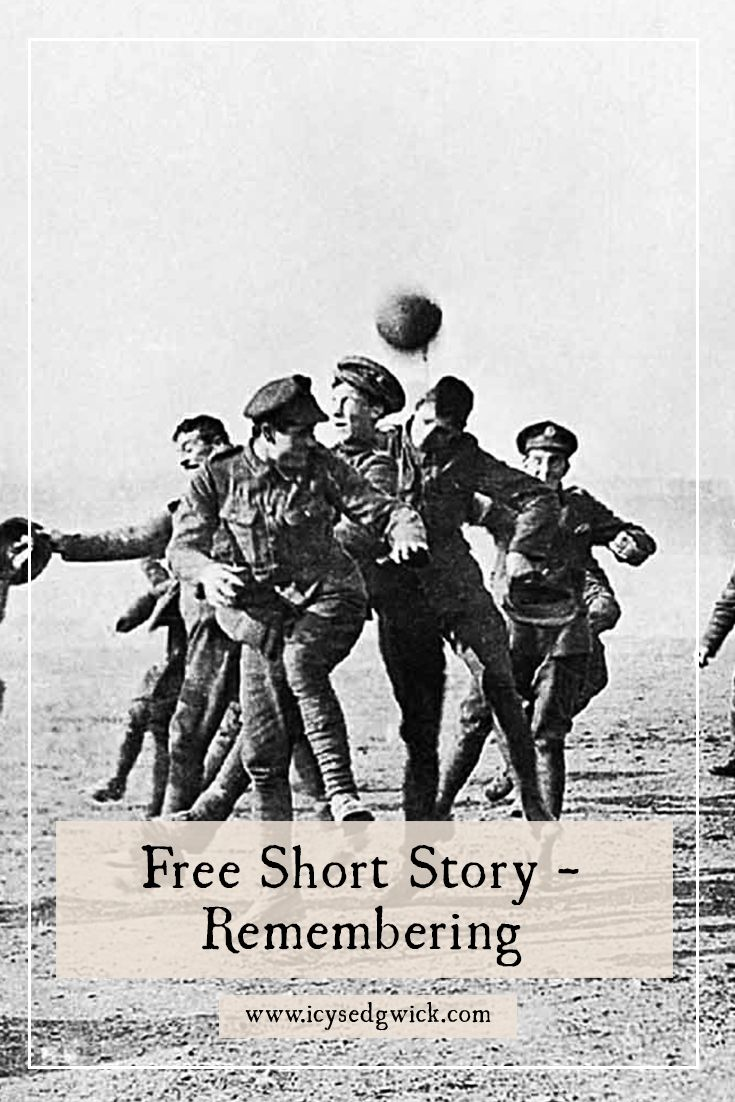 In this free short story, my fictional war photographer Faraday James reminisces on the War to End All Wars, and whether it was truly worth it. http://www.icysedgwick.com/remembering-the-war/