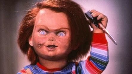 3. Child's Play (1988)..Inspiration for Chucky was the story of a nurse who turned against her employer, and cursed the doll that she had given to the employer's son,...items in his room were moved or missing, the boy would wake up screaming at night...new homeowners claimed the doll attacked them...