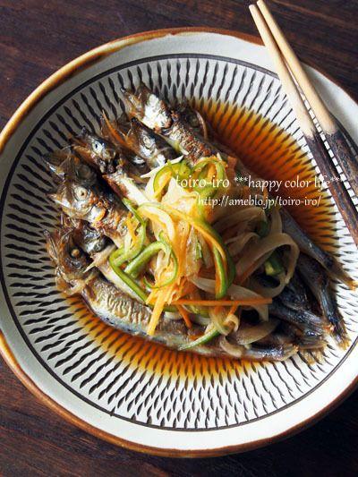 Japanese Food / ししゃもの南蛮漬け