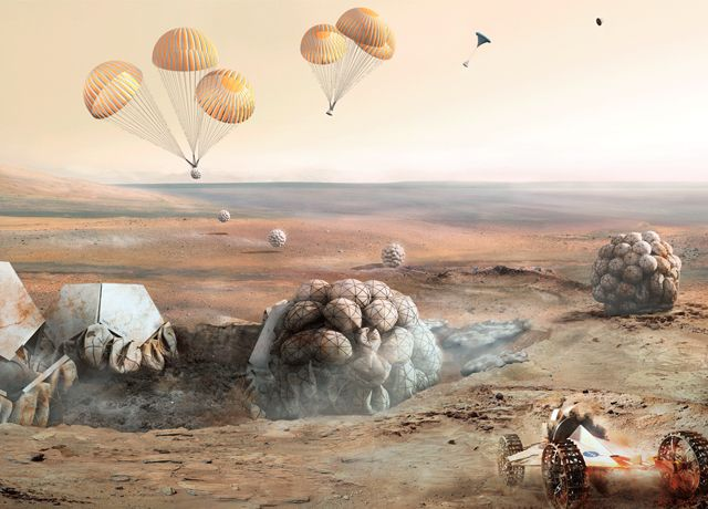 Архитектор Норман Фостер займется архитектурой на Марсе