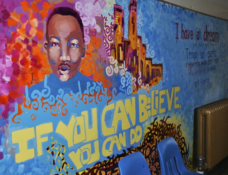 Best 25 school murals ideas on pinterest school for Community mural ideas