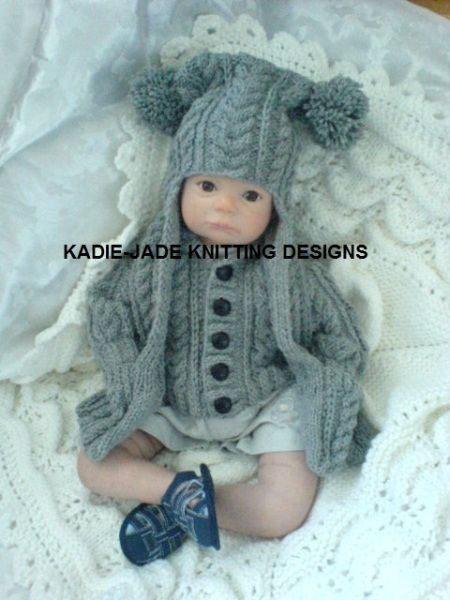 No 79 KADIE-JADE KNITTING PATTERN