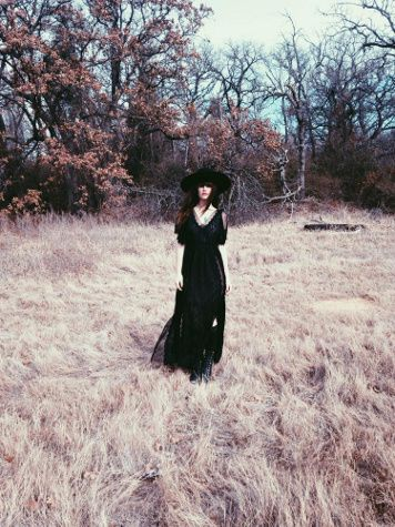 Witchy Woman Maxi Dress styled by phoenixmoon on #fpme